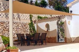 Protection Soleil Terrasse : choisissez votre propre voile d 39 ombrage pour la terrasse ~ Nature-et-papiers.com Idées de Décoration
