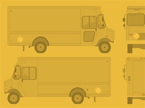 food truck template free food truck template by ben thompson dribbble
