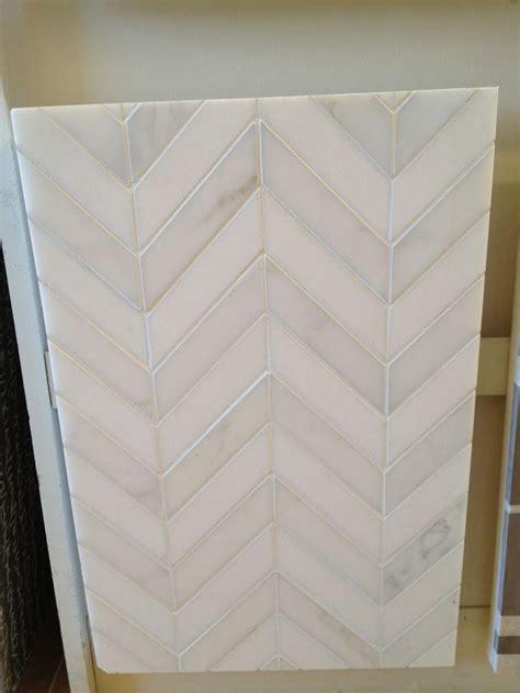 kitchen backsplash tile chevron tile pattern yes