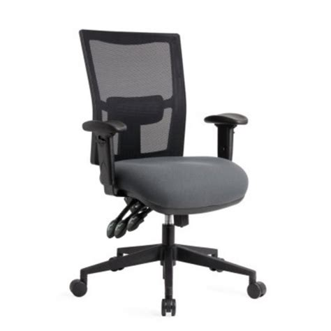 dawell team air task chair 3 lever mesh back no arms