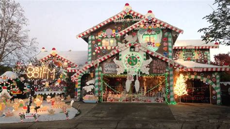 gingerbread house lights decorations gingerbread house christmas lights youtube