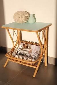Table De Nuit Pour Lit Mezzanine : best petite table basse chevet vintage rotin menthe with table chevet mezzanine ~ Teatrodelosmanantiales.com Idées de Décoration