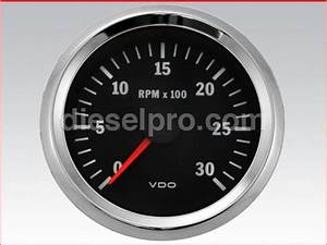 Tachometer  Electrical 12 Volts
