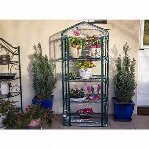 Mini Serre De Balcon : mini serre de jardin balcon ou terrasse 4 tag res ~ Premium-room.com Idées de Décoration