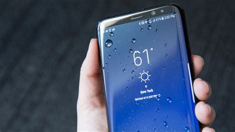 samsung galaxy s8 ip68 water resistant rating explained