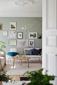 Fliesen Skandinavischen Stil : wohnidee wohnzimmer richten sie ihr wohnzimmer in gr n ein ~ Lizthompson.info Haus und Dekorationen