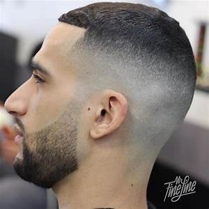 Dégradé Americain Court : coupe de cheveux homme tres court avec barbe ~ Melissatoandfro.com Idées de Décoration