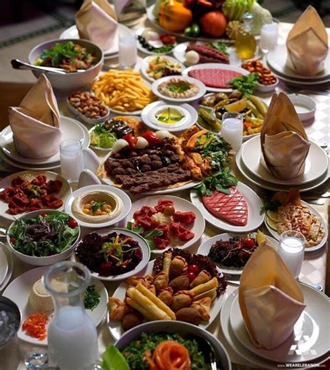 cuisine liban nothing tops a delicious traditional lebanese lunch by