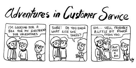 A New Comic! Because Customer Service Is