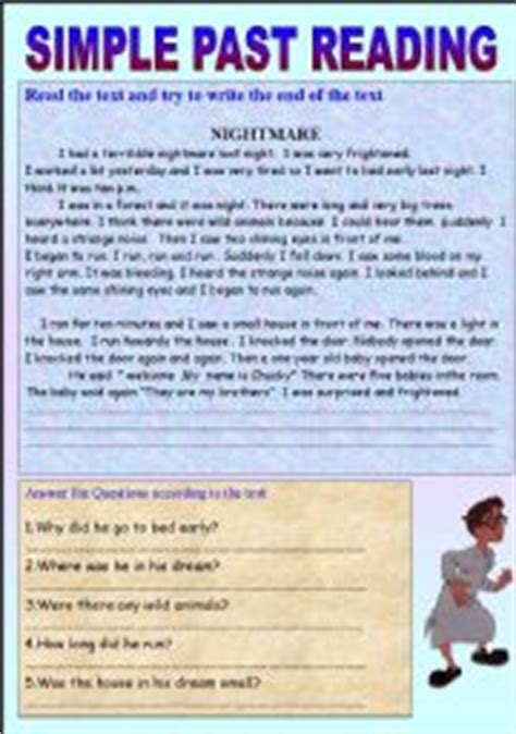 English Worksheets Simple Past Worksheets, Page 89