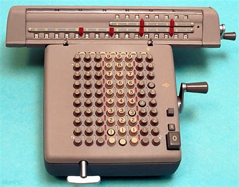 Four Function Mechanical Calculators