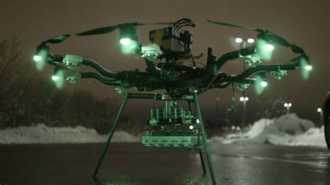 drone lights at night 250 000 lumen drone led light for night flying