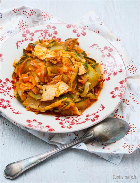 cuisine au wok recettes recette sans gluten wok de courgettes au tofu fumé