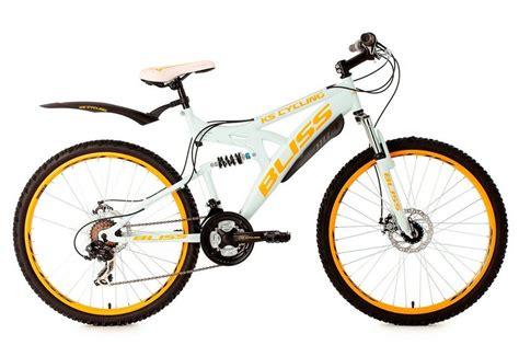 mountainbike mädchen 26 zoll fully mountainbike 26 zoll wei 223 21 kettenschaltung 187 bliss 171 ks cycling kaufen otto