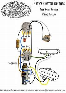 Wiring Harness Telecaster 3-way Reverse Tele