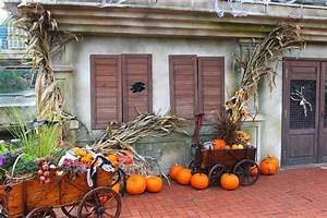 Decoration Halloween Maison : images gratuites maison porche d coration l 39 automne halloween paille saisonnier ~ Voncanada.com Idées de Décoration