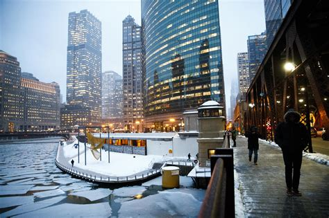 chicago braced  dangerous cold trump joked