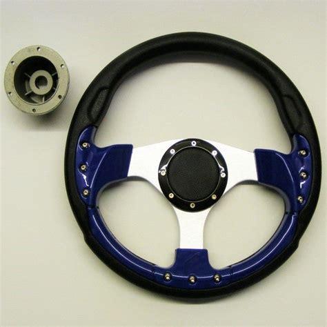 Boat Steering Wheel Blue by Sports Boat Steering Wheel Blue Black Silver Mayland