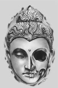 Tattoo Buddha Head Drawing