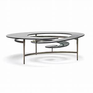 Table Basse Design Verre : table basse design en verre spirale mobilier de luxe idkrea collection ~ Teatrodelosmanantiales.com Idées de Décoration