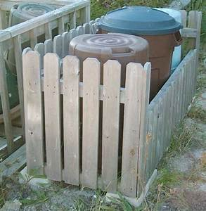 How to Build Garbage Can Corral PDF Plans