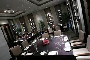 deco salon salle a manger marron With idee deco cuisine avec chaise contemporaine cuir salle À manger