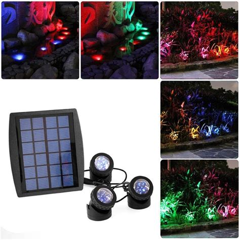outdoor led solar lights waterproof garden yard lmap