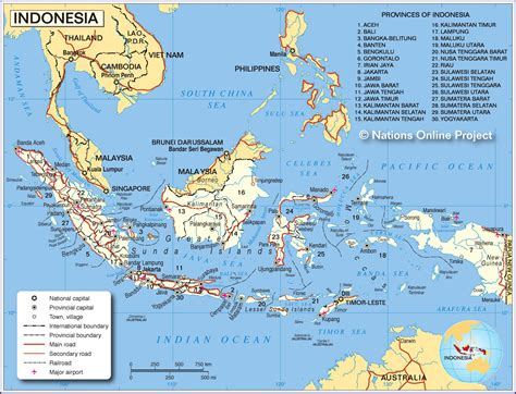 map  indonesia  indonesia living   ring