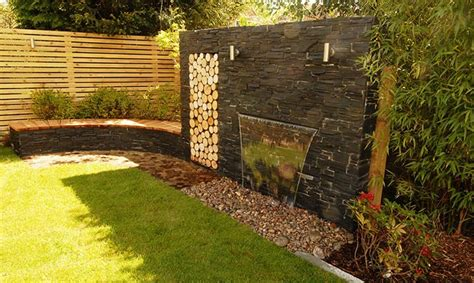 Wasserfall Garten Wand by Waterfall Wall Garden Search Landscaping