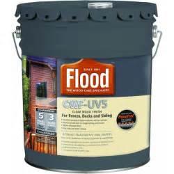 Cwf Uv Cedar Deck Stain by Flood Cwf Uv5 Clear Wood Finish Exterior Stain Voc Cedar