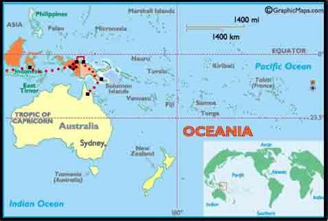 map  papua  guinea  irian jaya