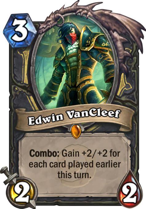 cheap edwin cleef deck edwin vancleef hearthstone card