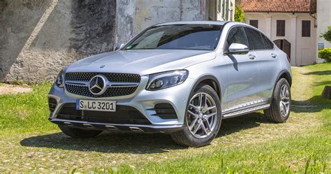 Mercedes Glc Coupe by 2017 Mercedes Glc Coupe Six Variants For Australia