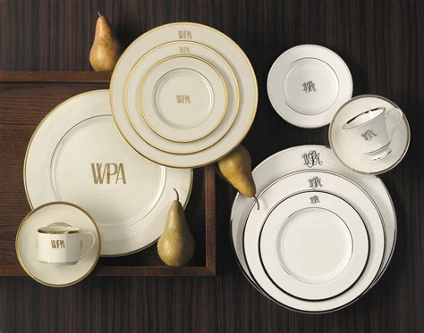 Monogrammed And Custom Pickard China And Fine Dinnerware Made In America