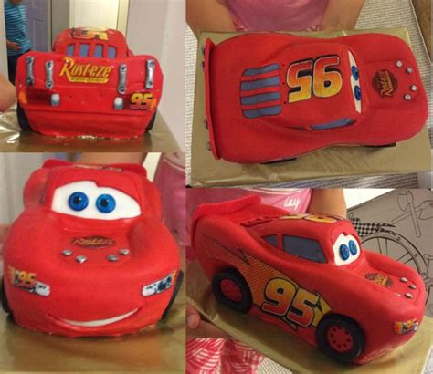 lightning mcqueen cars cake tutorial    video