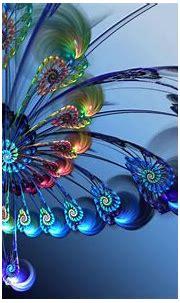 Wallpaper : abstract, 3D, artwork, violet, symmetry, ART ...