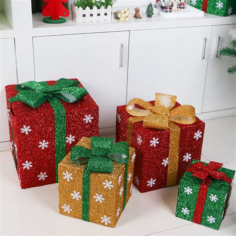 christmas pvc gift candy cookies box wedding dessert cake