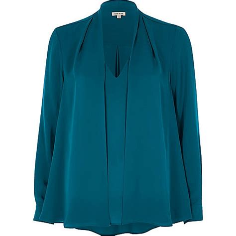 teal blouses teal blue 2 in 1 blouse blouses tops