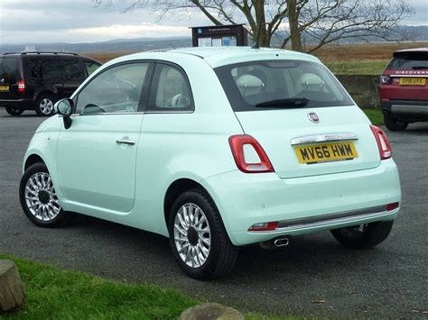 fiat 500 mintgrün used smooth mint green fiat 500 for sale cheshire