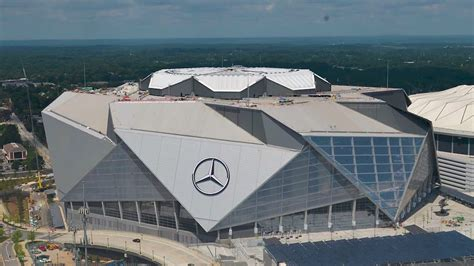 Sign up today to receive superdome updates in your mailbox. Mercedes-Benz Stadium - Wikipedia, la enciclopedia libre