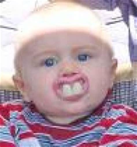 Buck Toothed Girl Meme - baby with buck teeth