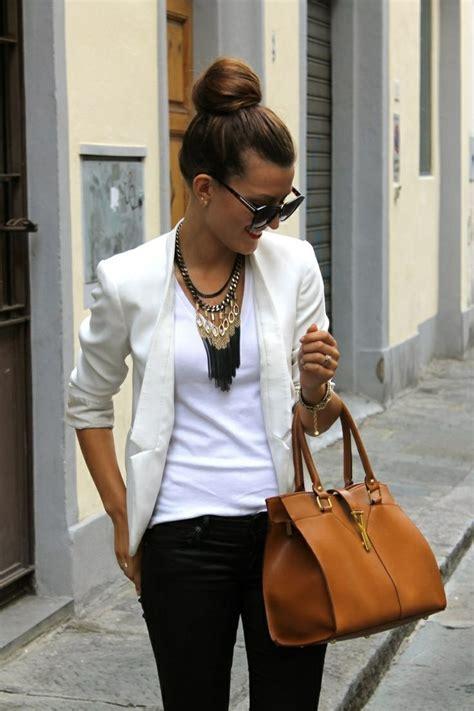 28 unglaubliche Sommer Outfits mit weiu00dfem Blazer