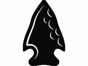 Indian Arrowhead 1 Native American Warrior Weapon Rock Stone