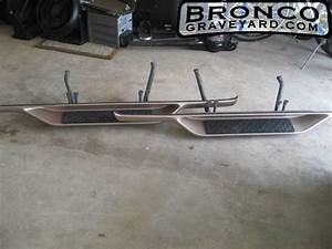 1996 Ford Bronco Eddie Bauer Running Boards