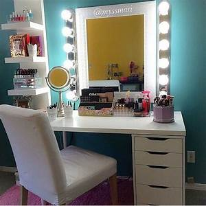 Table De Maquillage Ikea : best 25 vanity set up ideas on pinterest bedroom dressing table beauty table and couple room ~ Nature-et-papiers.com Idées de Décoration