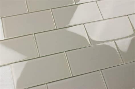 breezy 3x6 light gray subway glass tile kitchen bathroom