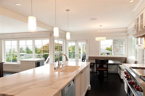pendant lights kitchen Kitchen Traditional with Black and