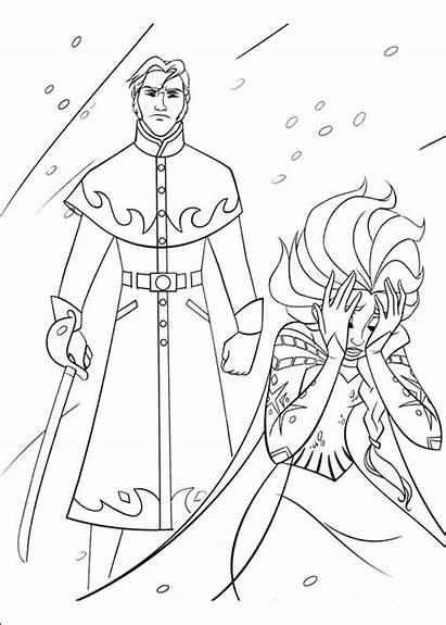 Frozen Colorear Dibujos Reino Hielo