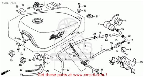 1993 Honda Shadow Wiring Diagram by Honda Vt600c Shadow Vlx 1993 Usa Fuel Tank Schematic
