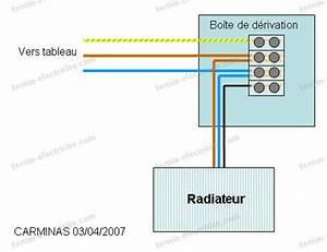Branchement Electrique Volet Roulant Sur Prise De Courant : questions forum lectricit conseils branchement radiateur ~ Dailycaller-alerts.com Idées de Décoration
